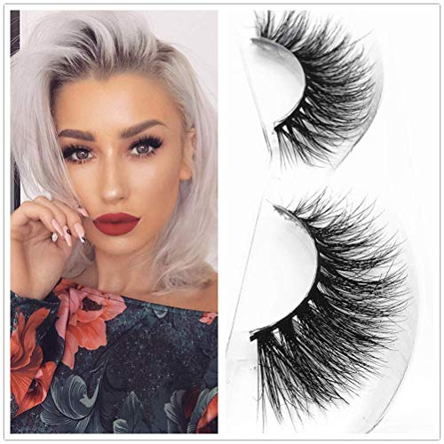 e6bd043024e Miss Kiss A21 Reused Eye Mink Soft Lashes 1 pair 3D Handmade Thick Mink  Eyelashes Natural
