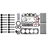 #6: Motorhot Head Gasket Set Bolts Intake Exhaust Valves for 04-05 Chevy Aveo 1.6L DOHC VIN CODE 6