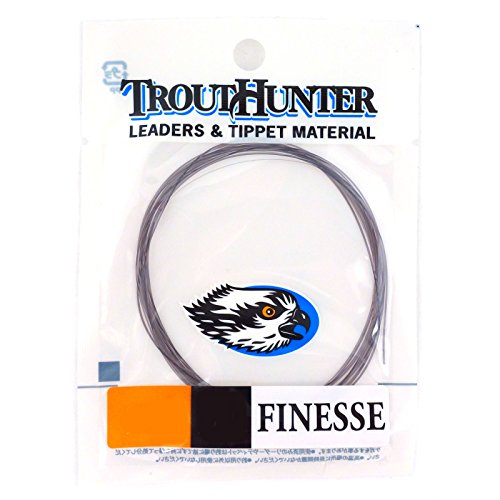 Trouthunter Finesse Leaders, 12 ft, 5X, 3 Pack