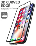 i-Blason iPhone X Screen Protector, Premium 3D Curved Edge Tempered Glass Screen Protector for Apple iPhone X [1-Pack]