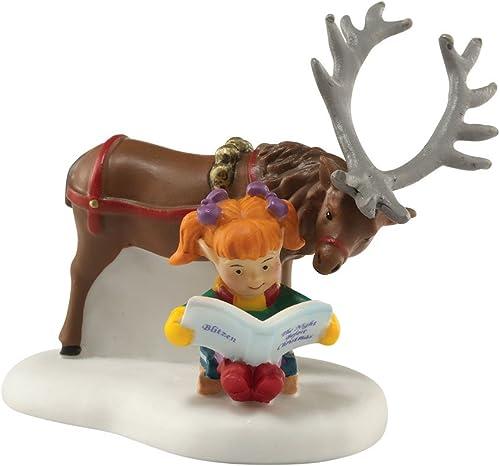 Department 56 North Pole Village Blitzen Accessory Figurine, 2.375 inch