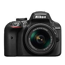 Nikon D3400 w/ AF-P DX NIKKOR 18-55mm f/3.5-5.6G VR (Black)(Renewed)