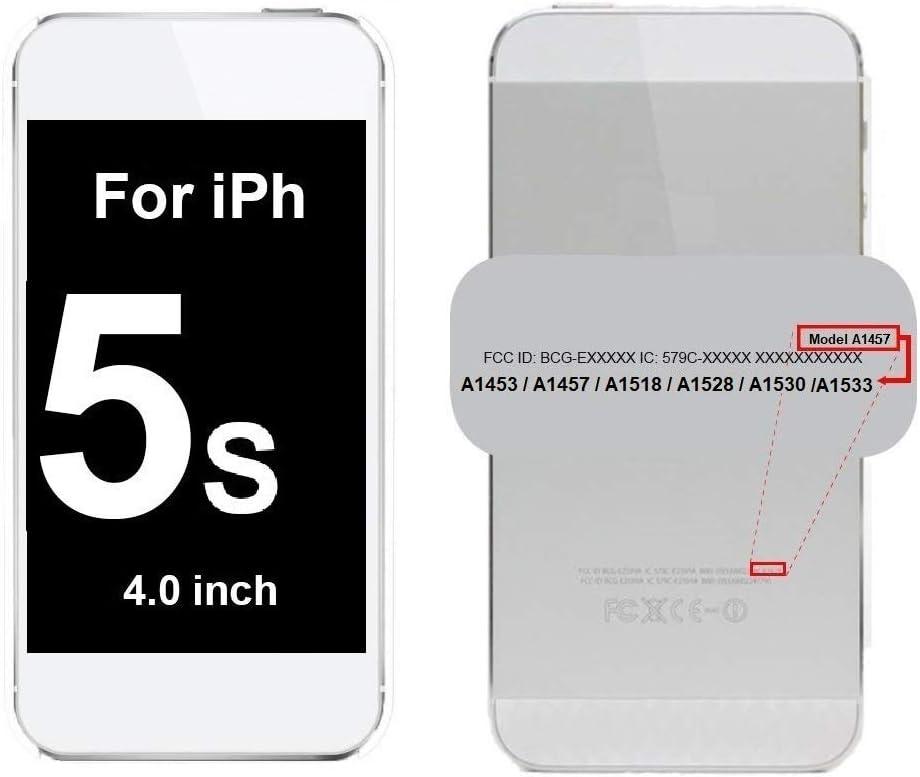 Smartex/® Auricolar Interno Altavoz Compatible con iPhone 5C Earpiece Speaker de Repuesto