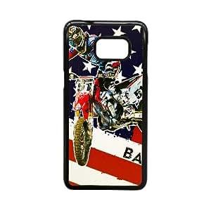 Generic for Samsung Galaxy S5 Edge Cell Phone Case Black Motocross Custom Theme HLHHFSKDD2157