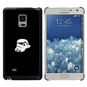 Stuss Case / Funda Carcasa protectora - Tormenta Tropa Casco - Samsung Galaxy Mega 5.8