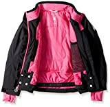 Spyder Girl's Lola Ski Jacket, Black, Size 16