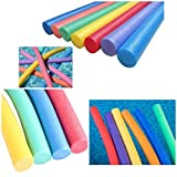ADEPTNA Pack of 2 Solid Foam Swimming Pool Noodle Float Aid Woggle Logs Noodles - Good Strength And Flexibility