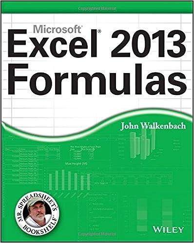 Amazon.com: Excel 2013 Formulas (9781118490440): John Walkenbach ...