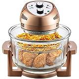 Big Boss Oil-less Air Fryer, 16 Quart, 1300 watt, Limited Edition Copper