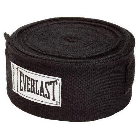 Everlast Worldwide 108-Inch Hand Wrap (Black)