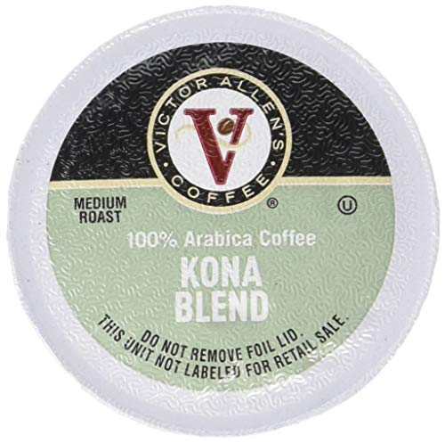 Deals Prime Amazon (Victor Allen's Coffee K Cups, Kona Blend Single Serve Medium Roast Coffee, 80 Count, Keurig 2.0 Brewer Compatible)