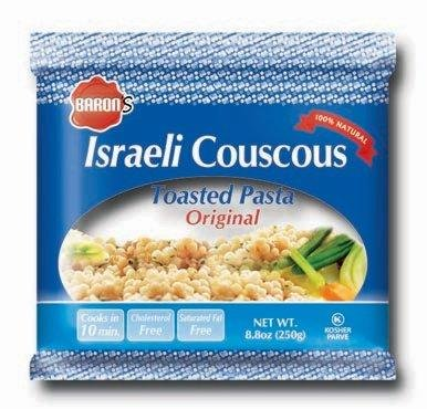 Israeli Toasted Pasta (Baron's Kosher Original Traditional Israeli Couscous Toasted Pasta 8.8-ounce Bags (Pack of 6))