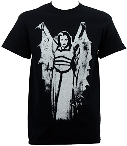 (Universal The Munsters Men's Lily Bat Wing T-Shirt)