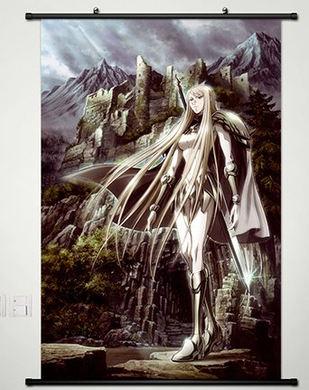 Home Decor Anime Claymore Wall Scroll Poster Fabric Painting Galatea 23 6 X 35 4 Inches 015