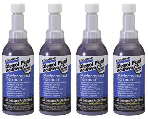 Performance Formula Stanadyne - 4 Bottles of Stanadyne 38564 Performance Formula 8 oz Diesel Fuel Additive