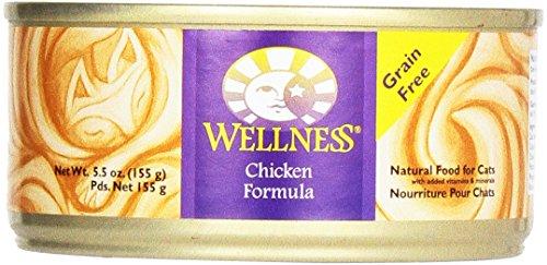 Wellness Cat Food Chicken, 5.5 oz