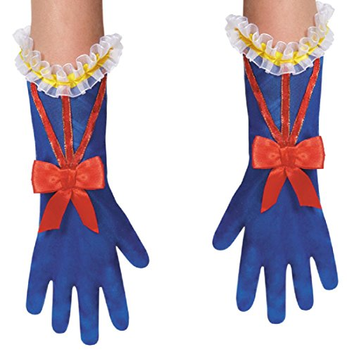 Disguise Costumes Snow White Gloves, Toddler, Size 6 (Deluxe Costume Gloves)
