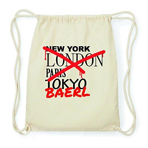 JOllify BAERL Hipster Turnbeutel Tasche Rucksack aus Baumwolle - Farbe: natur Design: Grafitti RvJG0HyVS