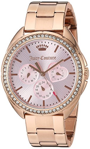 Juicy Couture Women's 'Capri' Quartz Gold Quartz Watch(Model: 1901480)