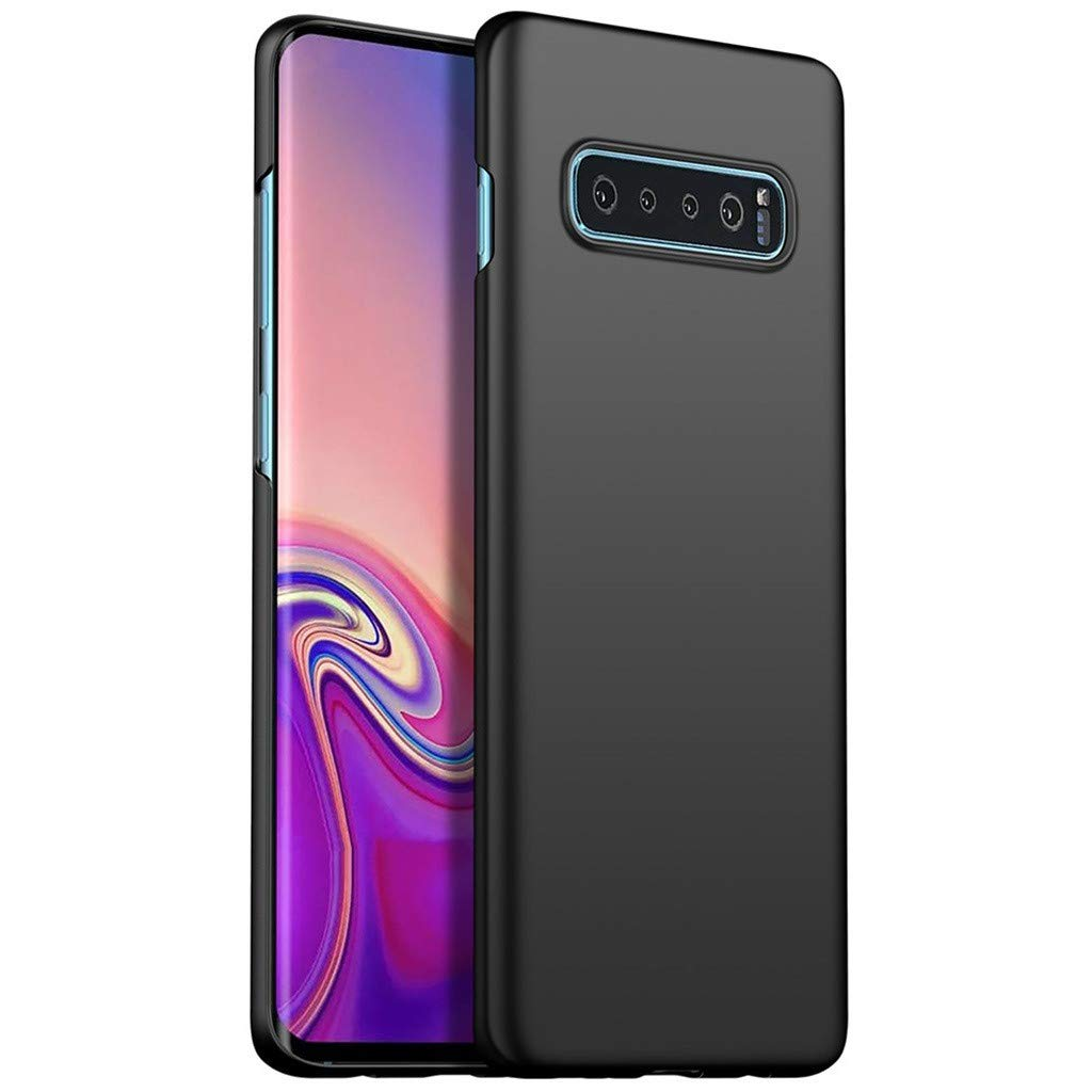 Waterproof-Case-with-Built- Screen-Protector,Ultra-thin-Luxury-Hard-PC-Protective-Case-Cover-For-Samsung-Galaxy -S10-6.0inch, (Black)