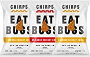 Chirps Cricket Protein Chips, Gluten-Free, High Protein, 5 Oz (Pack of 3) (Variety)