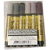 Marcador Magic-Color Gold Estojo com 06 Tons De Cinza