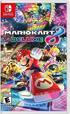 Amazon Com Mario Kart 8 Deluxe Nintendo Switch Digital Code Video Games