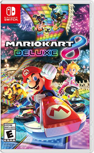 Mario Kart 8 Deluxe - Nintendo Switch (Best 4 Player Wii Games)