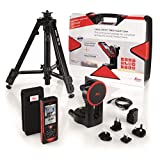 Leica Disto D810 Kit Laser Distance Measurer Pro Kit With Hard Case, TRI70 Tripod, FTA360 Adapter, Red/Black