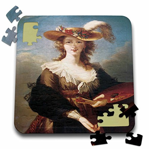 (BLN Portraits of Women Through Time Fine Art Collection - Self-Portrait by Marie Louise Elisabeth Vigee-Lebrun - 10x10 Inch Puzzle (pzl_149580_2))