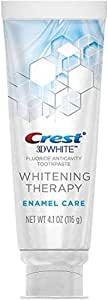 Crest 3D White Whitening Therapy Enamel Care Fluoride Anticavity Toothpaste 4. 1 oz (of 2)