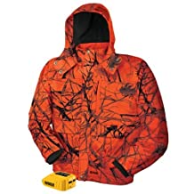 DEWALT DCHJ063B-M 20V/12V MAX Blaze Camo Heated Jacket and Adaptor, Medium