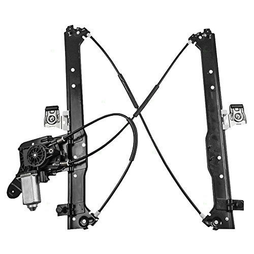Power Window Lift Regulator & Motor Assembly Passenger Rear Replacement for Chevrolet Cadillac GMC Pickup Truck 19301980 ()