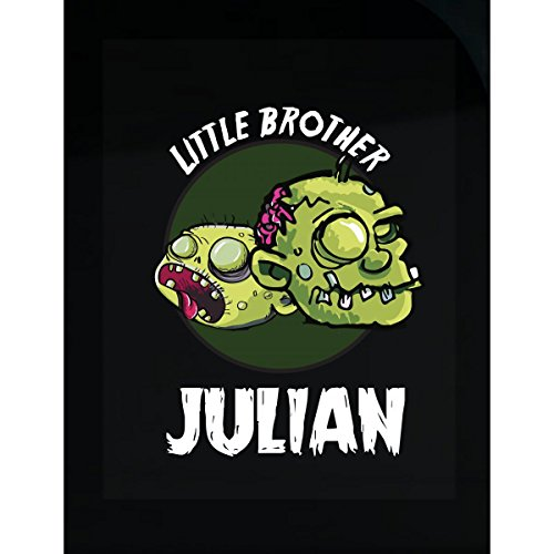Prints Express Halloween Costume Julian Little Brother Funny Boys Personalized Gift - Sticker -