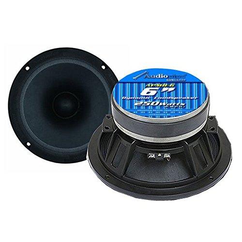 """2) NEW AUDIOPIPE APMB-6 6"""" 500W Low/Mid Frequency Loudspeakers Speakers APMB6"""