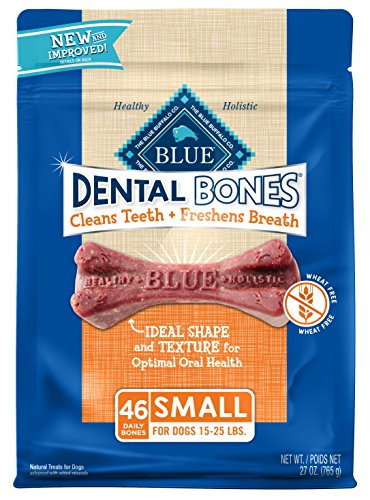 - Blue Dental Bones Adult Small Dental Chew Dog Treat 27-oz Value Pack