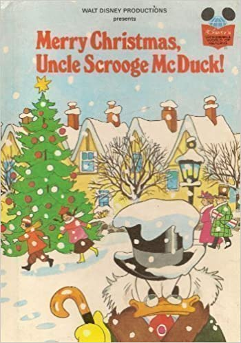 Scrooge Mcduck Christmas.Walt Disney Productions Presents Merry Christmas Uncle