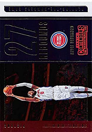 27924d86b4b0 2018-19 Panini Contenders Playing the Numbers Game Basketball  5 Andre  Drummond Detroit Pistons