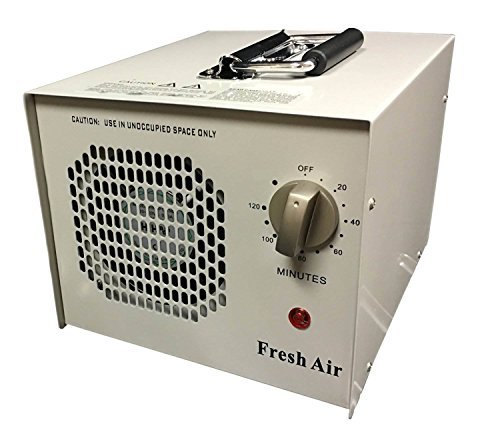 Breathe Fresh Air HEPA Filter Ionic Ionizer Air Purifier with UV Sterilizer and 2 Ceramic Ozone Plates Image
