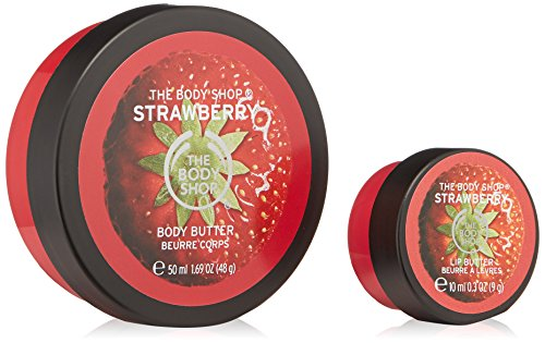 Price comparison product image The Body Shop Strawberry Festive Bauble Gift Set