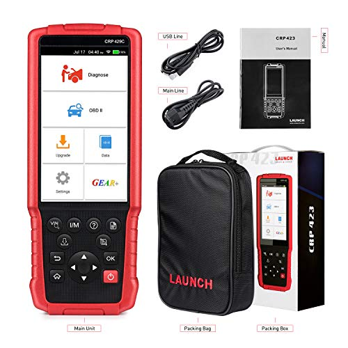 LAUNCH X431 CRP429C OBD OBD2 Scanner ABS SRS TCM ENG Code Reader Automotive Diagnostic Tool with Oil Reset,TPMS Reset, ABS Bleed, Injector Coding, IMMO, EPB, BMS, SAS, DPF,TPS by LAUNCH (Image #6)