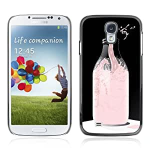 Designer Depo Hard Protection Case for Samsung Galaxy S4 / Cool Milk Octopus