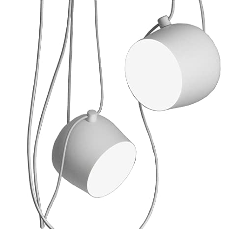 Personalità creativa regolabile 1,7 Lampadario in ferro tondo abbigliamento Lampada  da soffitto Retro stile