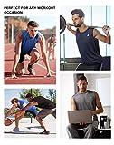 Roadbox Workout Sleeveless Shirts for Men Athletic