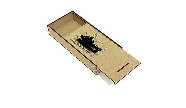 Barco Anclado Estuche de lápices de Madera (PC00011646): Amazon.es: Juguetes y juegos