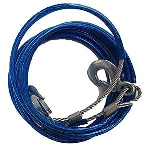 Cable de Acero Cuerda de Remolque 10 mm x 4 m 5000kg