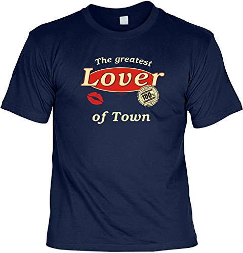 T-Shirt - The greatest lover of town - lustiges Karneval Shirt ideal als Geschenk für Fasching