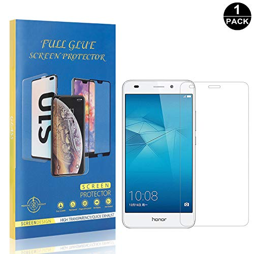Ultra Thin Bear Village Huawei Honor 5C Tempered Glass Screen Protector 9H Hardness Screen Protector Film for Huawei Honor 5C 1 Pack Anti Scratches