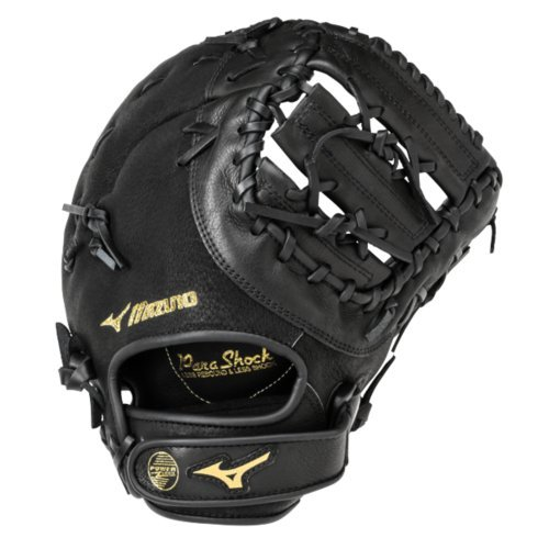 Mizuno GXF102 Youth Prospect First Baseman Mitt, 12.5-Inch, Right Hand Throw (Mizuno Baseball Gloves 12 Inch)