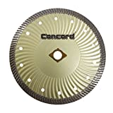 Concord Blades CBN070D10CP 7 Inch Granite and Marble Narrow-Turbo Wave Diamond Blade